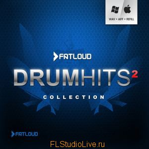 Коллекция сэмлов FatLoud - Drum Hits Collection 2 для FL Studio