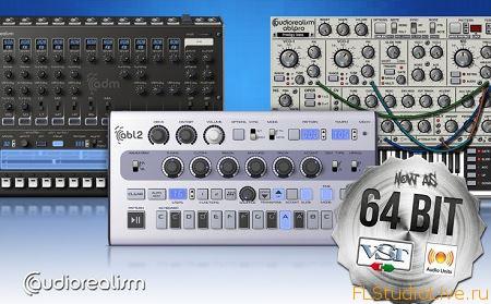 Скачать плагины для FL Studio AudioRealism Plugins Pack от 24.7.2013