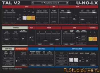VST плагин — Togu Audio Line TAL-U-NO-LX v2.81 Incl Keygen
