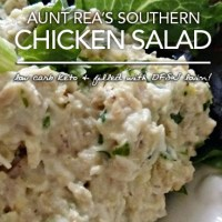Aunt Rea's Chicken Salad - Low Carb Southern Goodness