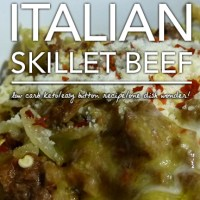 Italian Skillet Helper - Low Carb Keto & Gluten Free