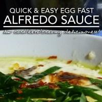 Egg Fast Alfredo Sauce - Low Carb Keto Nirvana