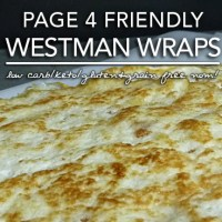 Westman Wraps - Low Carb Keto Tortillas (Induction Friendly|Gluten & Grain Free)