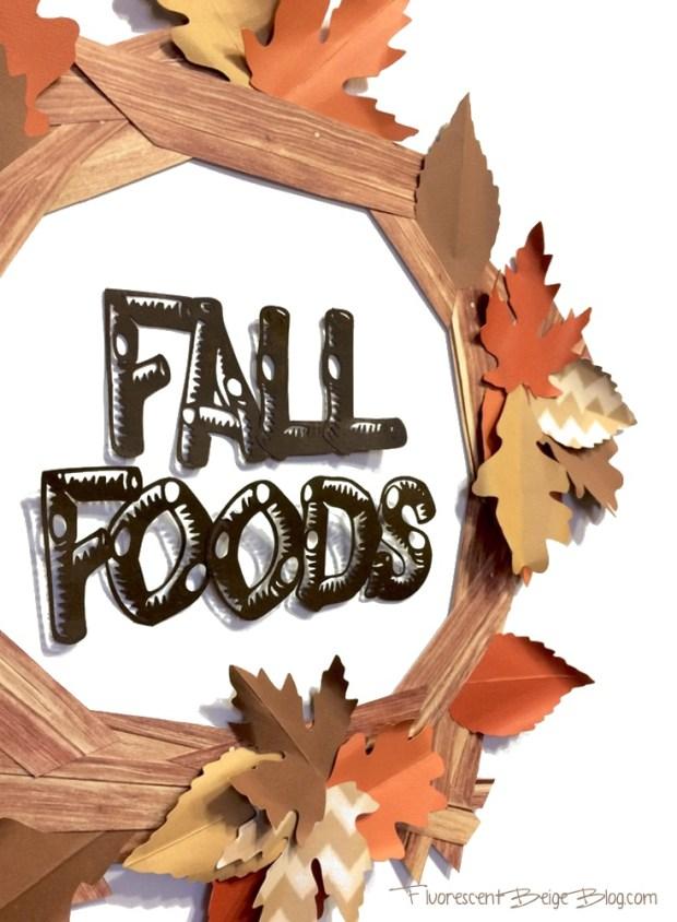 Fall Leaves Paper Wreath Closeup