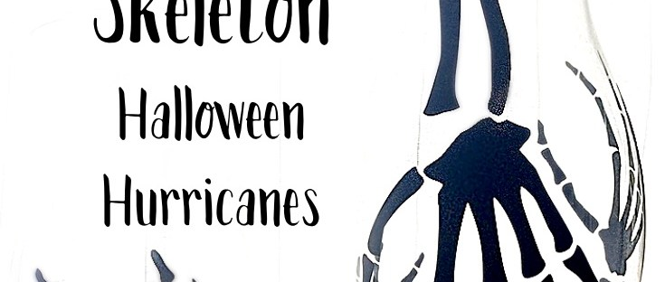 Spooky Skeleton Halloween Hurricanes thumbnail