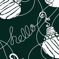 Hello Ornaments 6s Evergreen