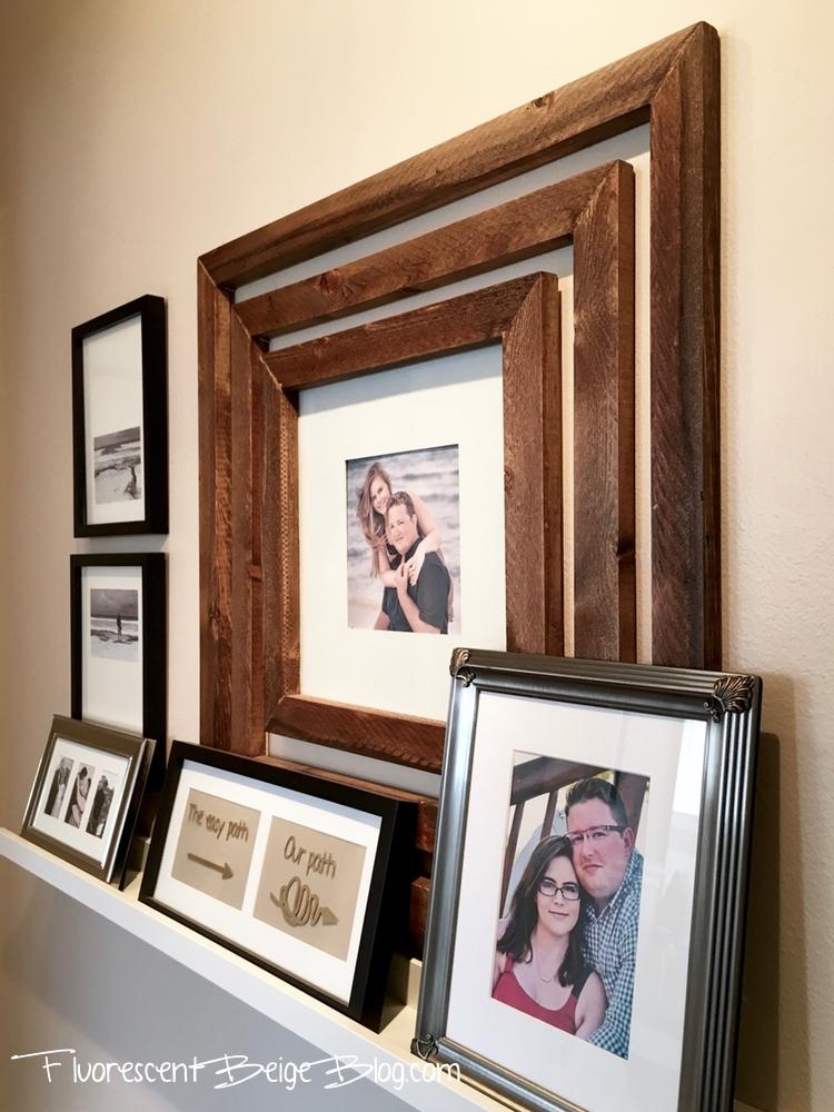 Hallway Wood Frames 2