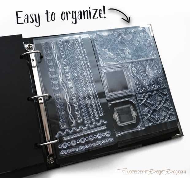 Stamp Binder Easy to Organize