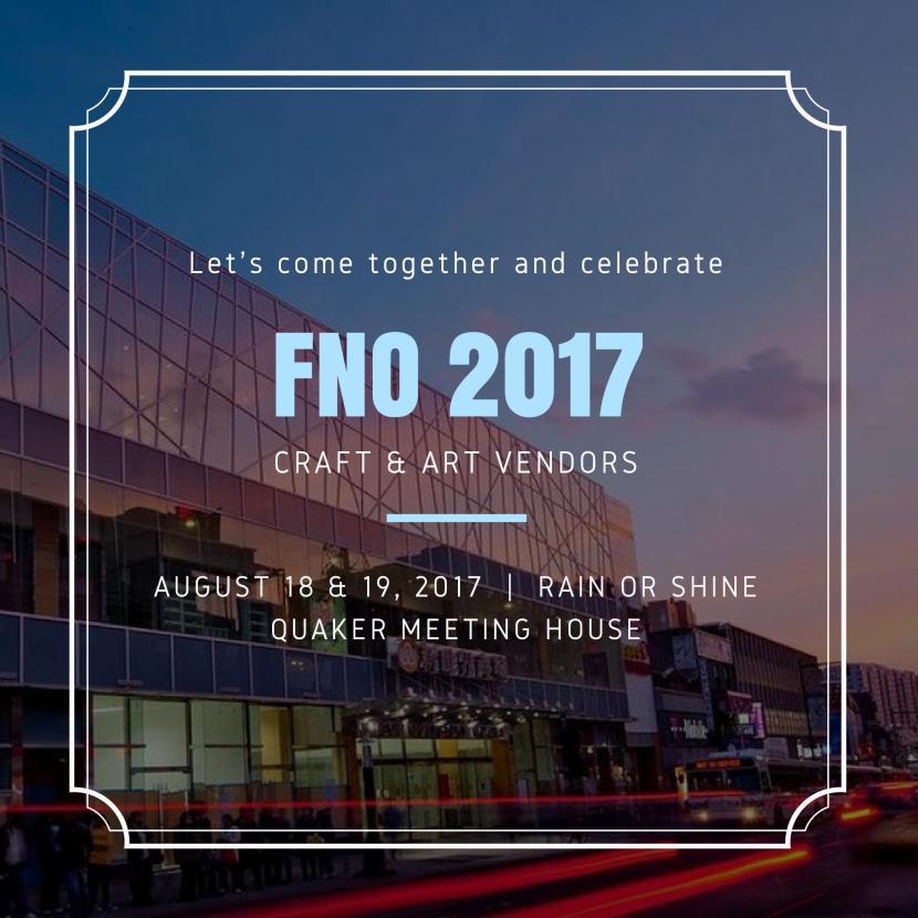 FNO 2017 Vendor