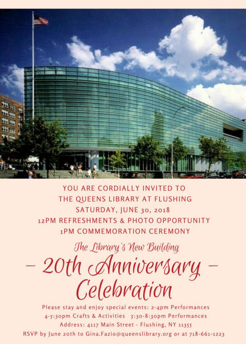 QueensLibrary20thAnniversary
