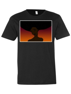 The Midnight Sky Collection – Short sleeve men's t-shirt