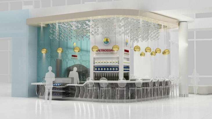Forget Turkey Wraps, Get Petrossian Caviar Now at LAX