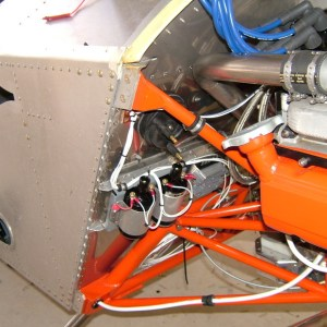 Sonex Corvair Tail Dragger Engine Mount Installation