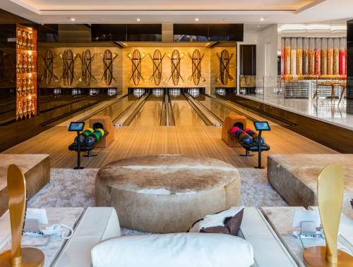 Medium Of Home Bowling Alley