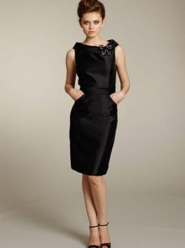 Black Dress Pencil Skirt
