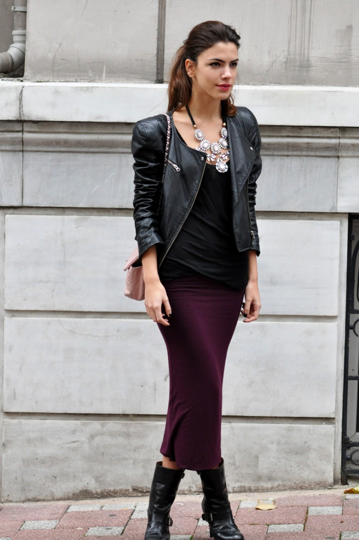 Loft Faux Leather Jacket