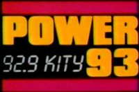 KITY 92.9 (Power 93) – San Antonio – 8/23/90