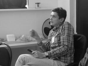 Андриан Шикунец. Момент обсуждения