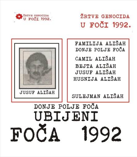 Foča 1992. - 1995. - dokumenti - žrtve