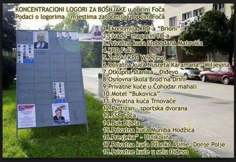 Foča 1992. - 1995. - koncentracioni logori u Foči