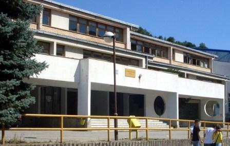 Foča, Srednjoškolski centar u Aladži - konc logor za bošnjake