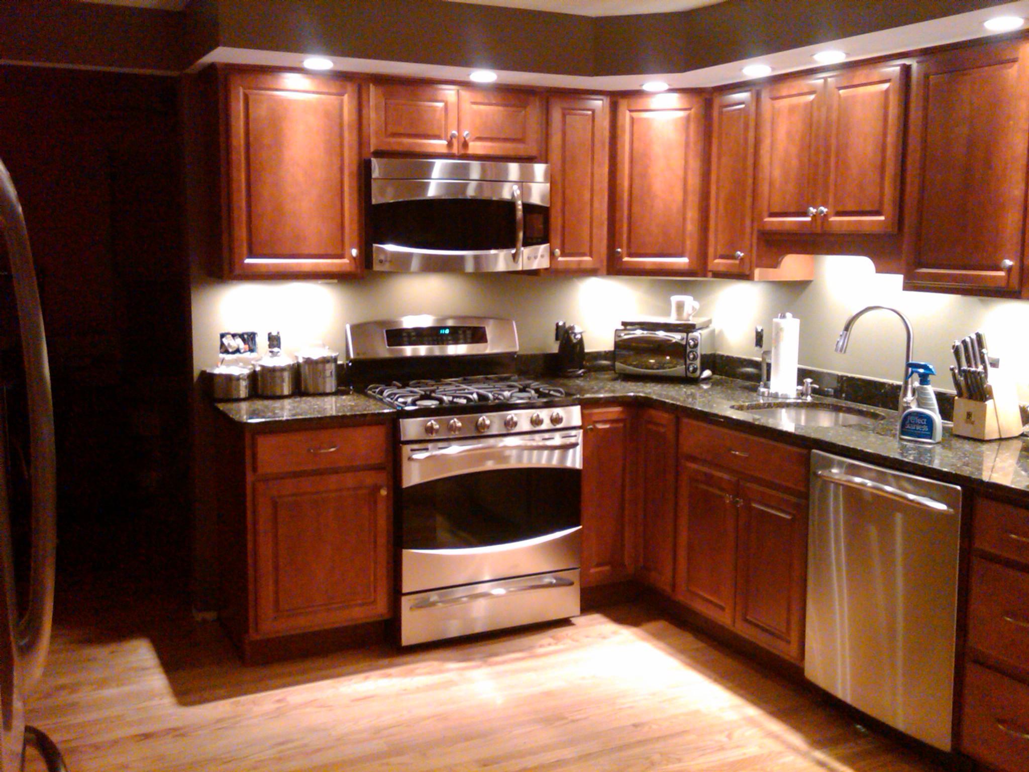 p 40 recessed lighting kitchen I