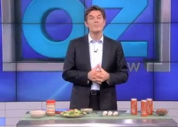 Dr Oz Drinks Verve for an afternoon pick me up