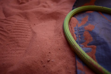 Rope and Soil Detail