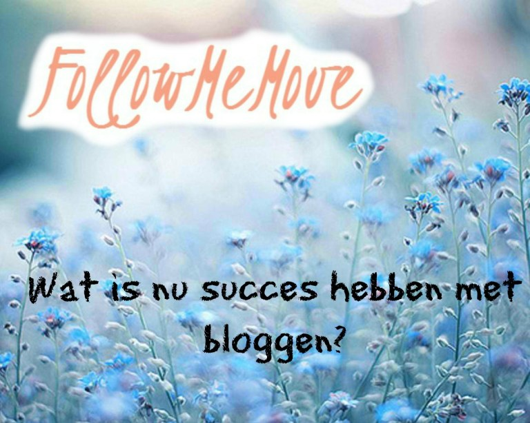 wat is nu succes hebben met bloggen