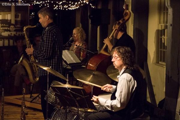 Debra Mann Quartet  with Debra Mann, Dino Govoni, David Zinno, and Marty Richards.