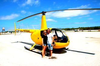 Helikopterflug Florida Keys, USA