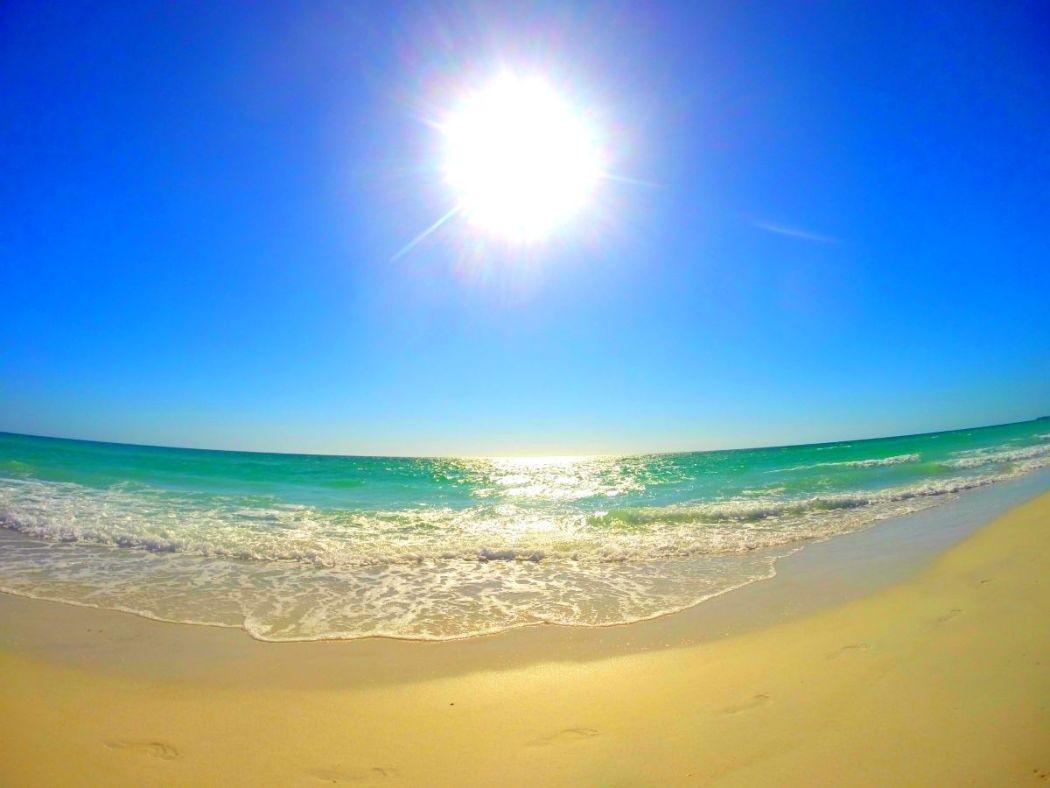 Strand in Florida, USA