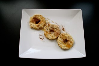 Donuts auf dem Teller