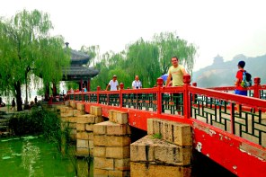 Brücke in Peking, China