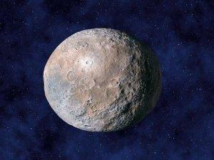 Asteroid Ceres, artwork