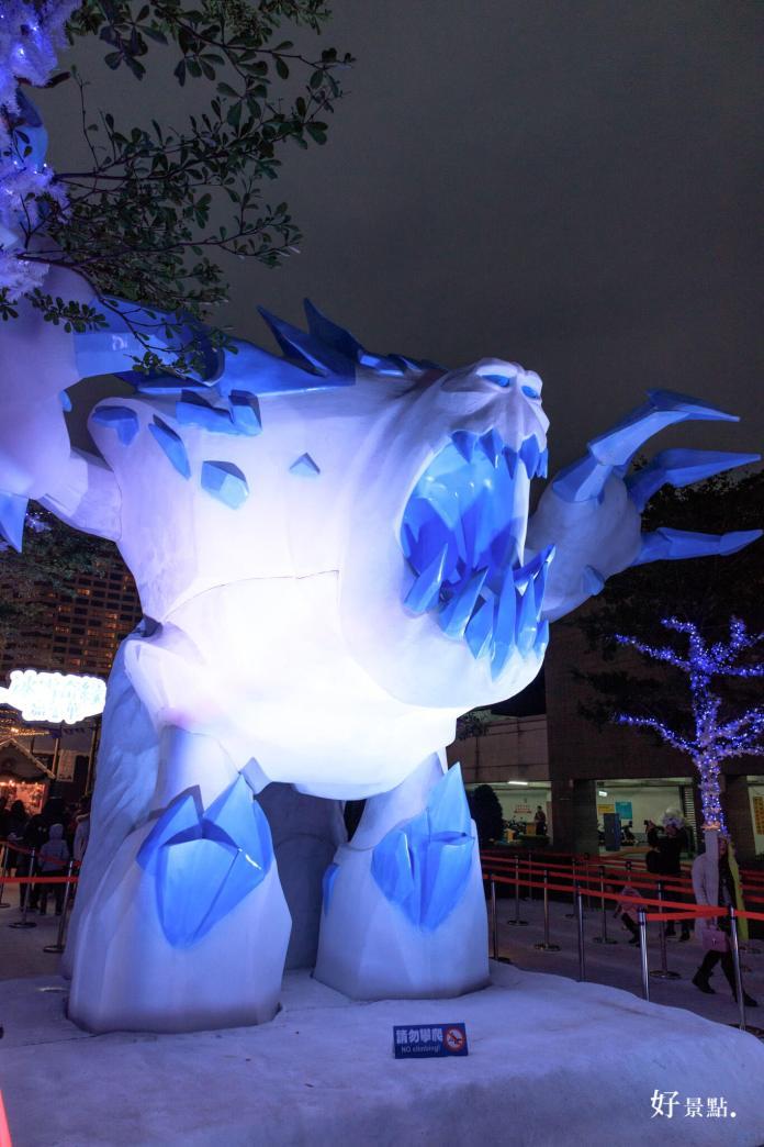 信义|迪士尼冰雪奇缘嘉年华-雪怪,艾莎,安娜,雪宝,冰晶圣诞树超好拍照