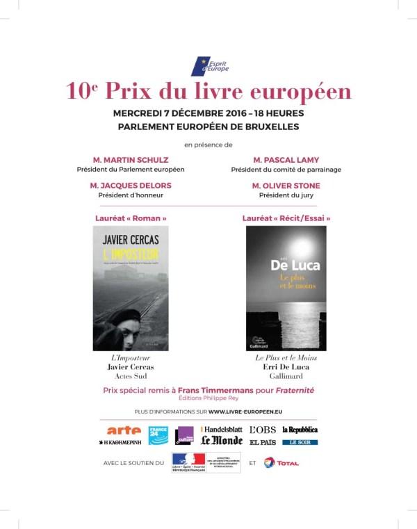 Dixième prix du livre européen