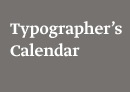 typographerscalendar