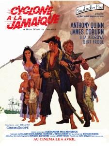 affiche film cyclone a la jamaique