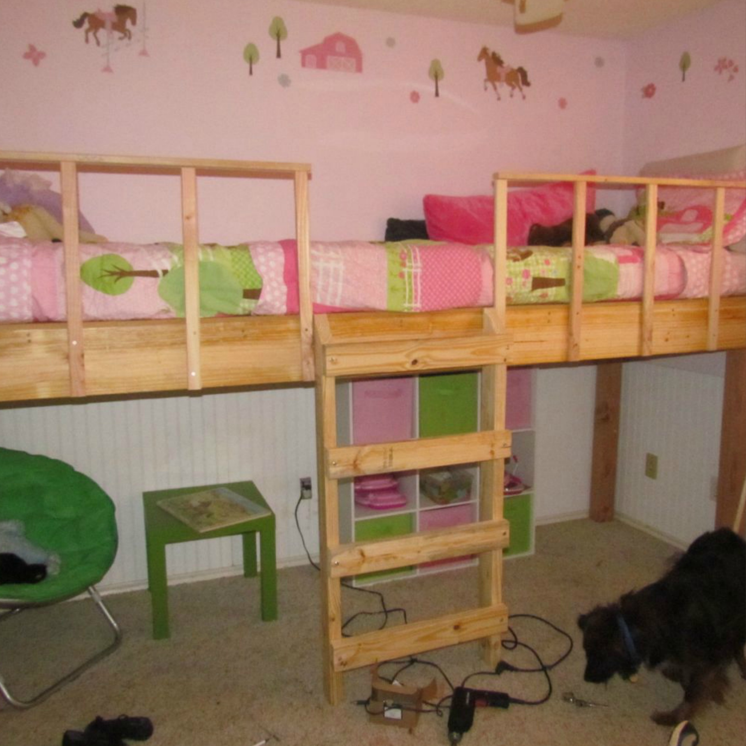 Fullsize Of Girls Loft Bed