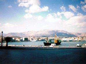 ギリシャの港