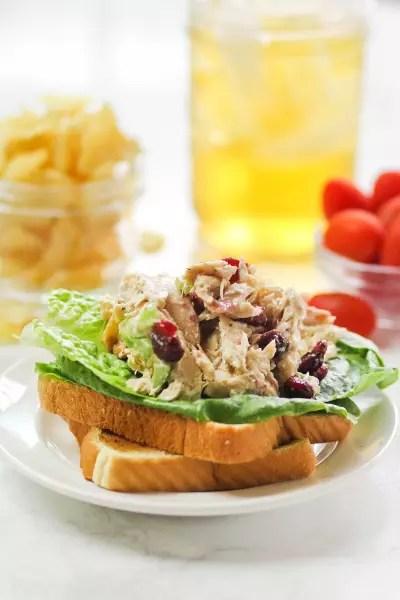 Lighter Chicken Salad Pic