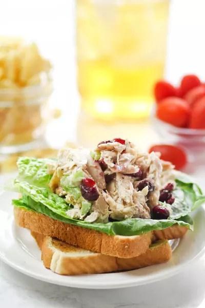 Lighter Chicken Salad Picture