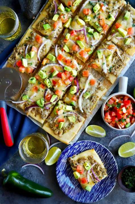 File 1 - Avocado Pulled Pork Flatbread with Grilled Tomatillo Salsa
