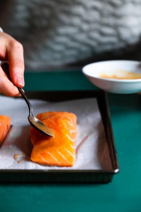 Miso Glazed Salmon Picture