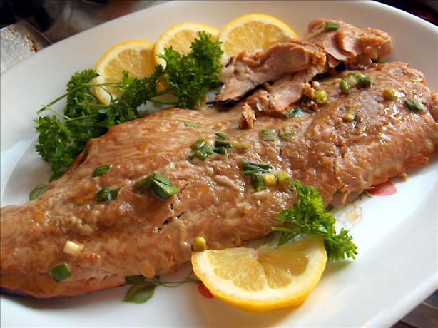 Paleo Honey-Ginger Grilled Salmon