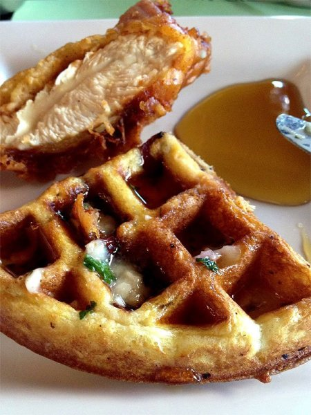 chicken-and-bacon-waffles