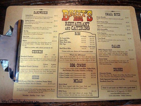 britts-bbq-menu