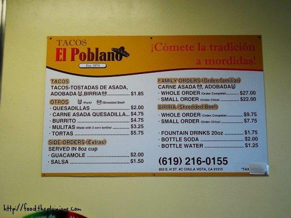 tacos-el-poblano-menu