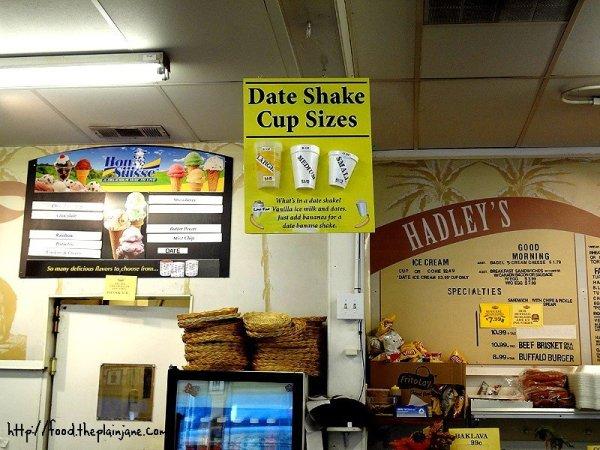 hadleys-menu